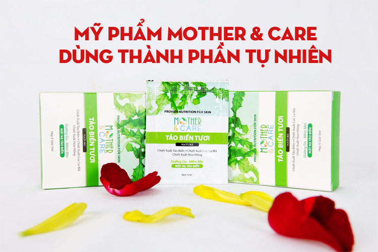 Mặt nạ tảo biển mother care