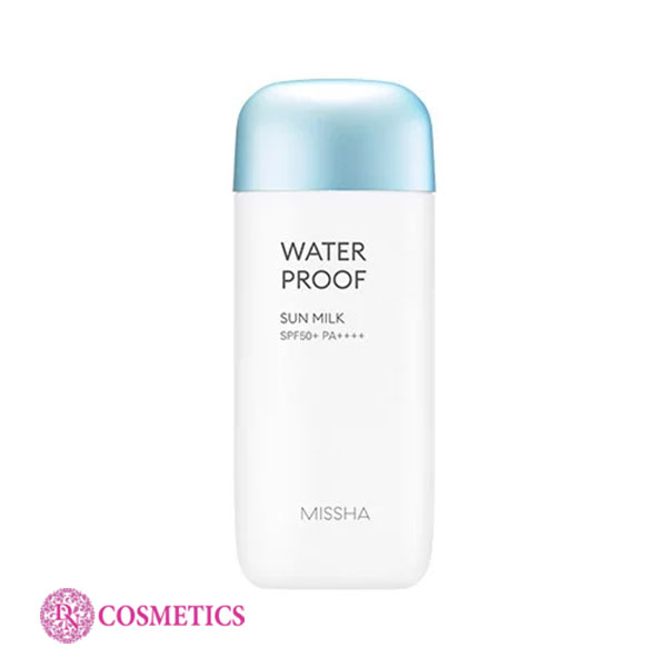 kcn-missha-water-proof-sun-milk-70ml-mau-xanh