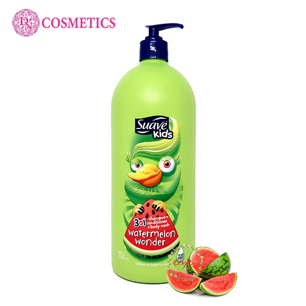sua-tam-suave-kids-3in1-532ml-mui-watermelon-wonder