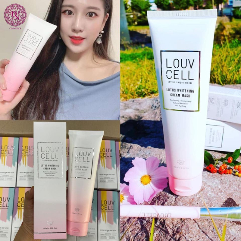 cong-dung-louv-cell-lotus-whitening-cream-mask