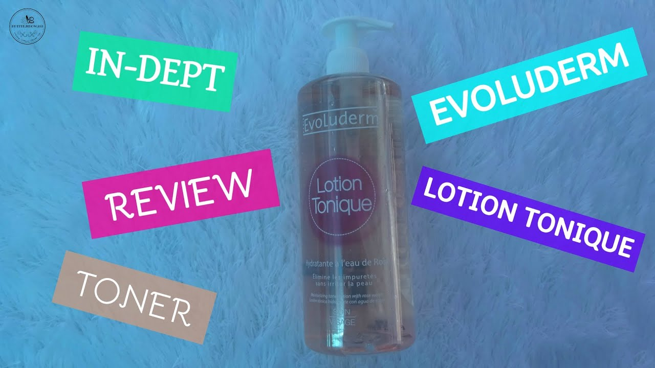 Review Nuớc Hoa Hồng Lotion Tonique Evoluderm | THAYERS TONER DUPE?!