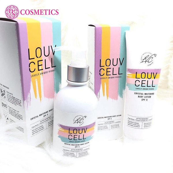kem-duong-trang-da-body-louv-cell-lovely-unique-visual-120ml
