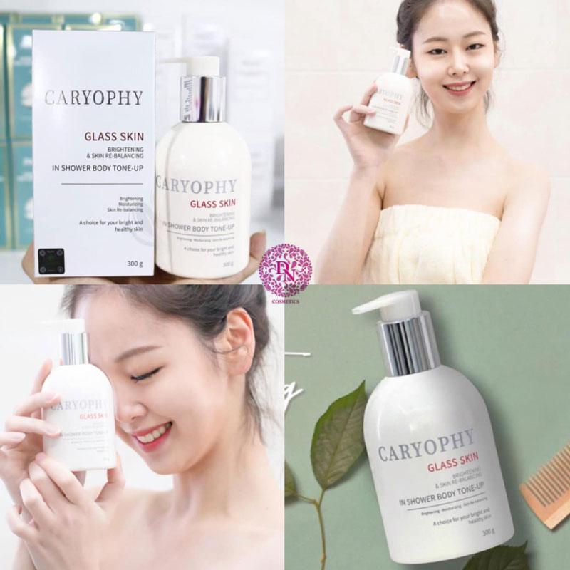 kem-duong-the-caryophy-3-in-1-glass-skin-in-the-shower-body-tone-up